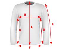 wymiary bluza