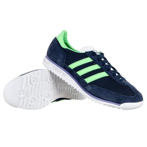 Zamszowe buty sportowe damskie Adidas Originals SL72