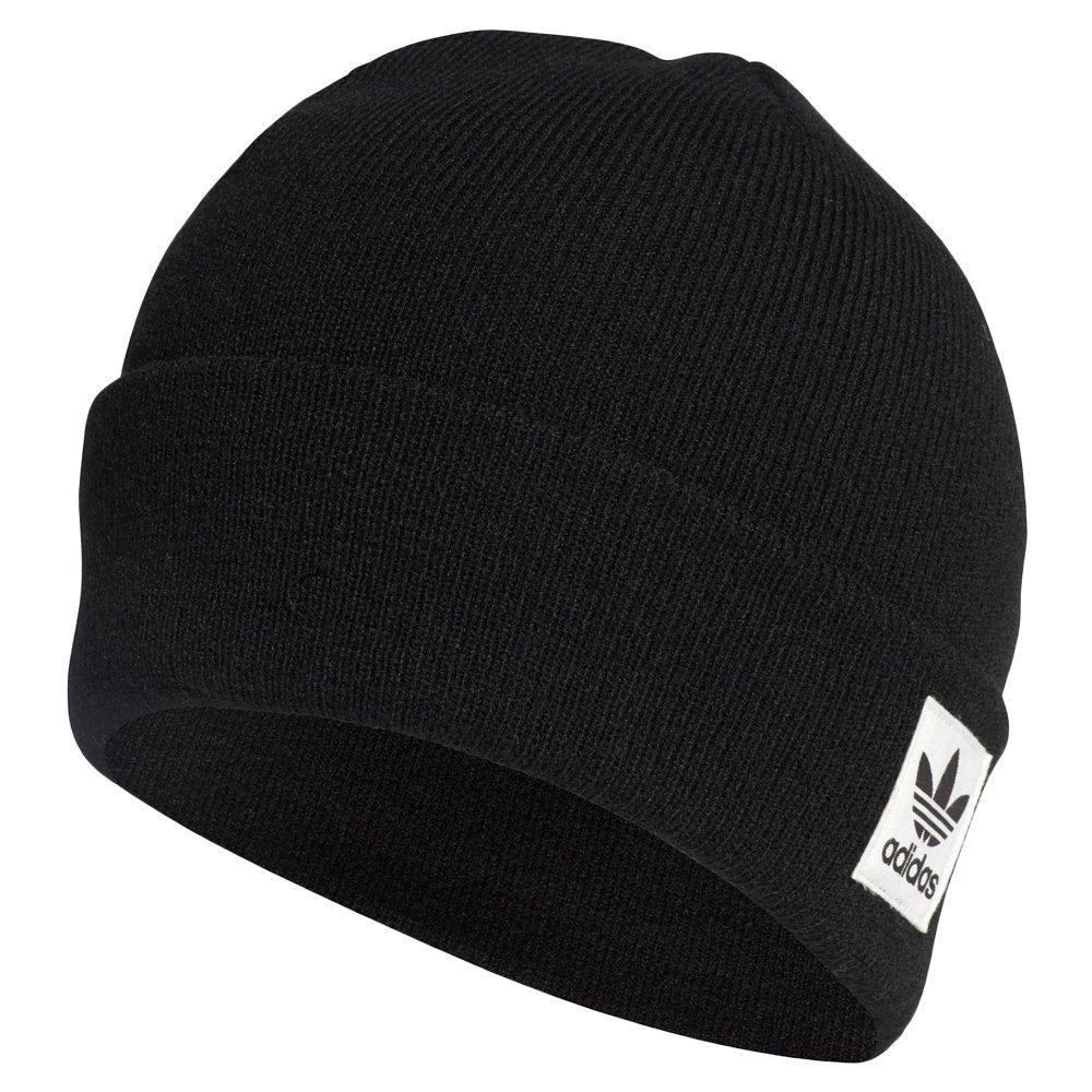 3f77e9ed49e9e Details about Toddler Winter adidas Originals Logo Beanie Kids Warm Black  Hat