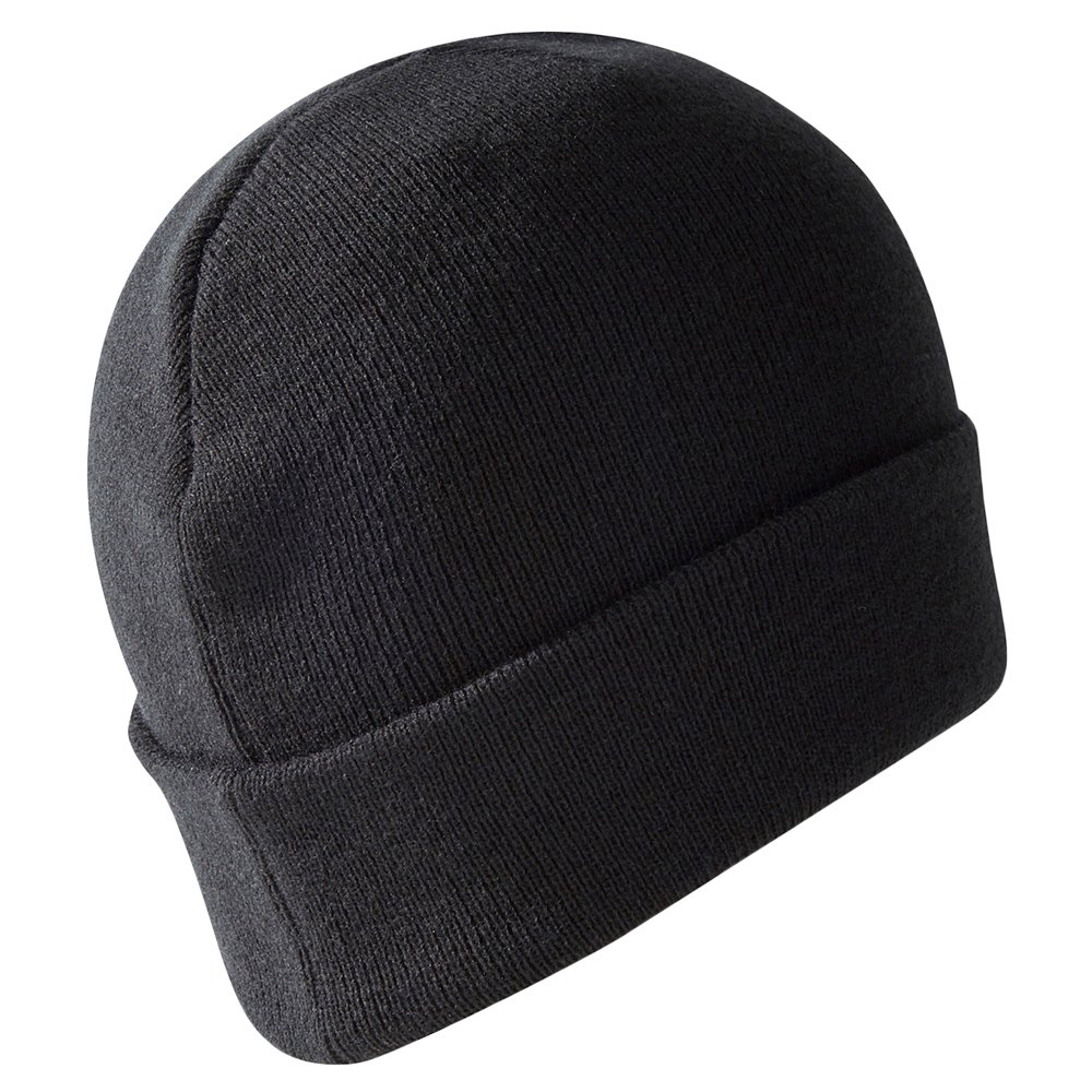 *NWT* Boys Warm Fleece Winter Hat Gray w// Black OSFM