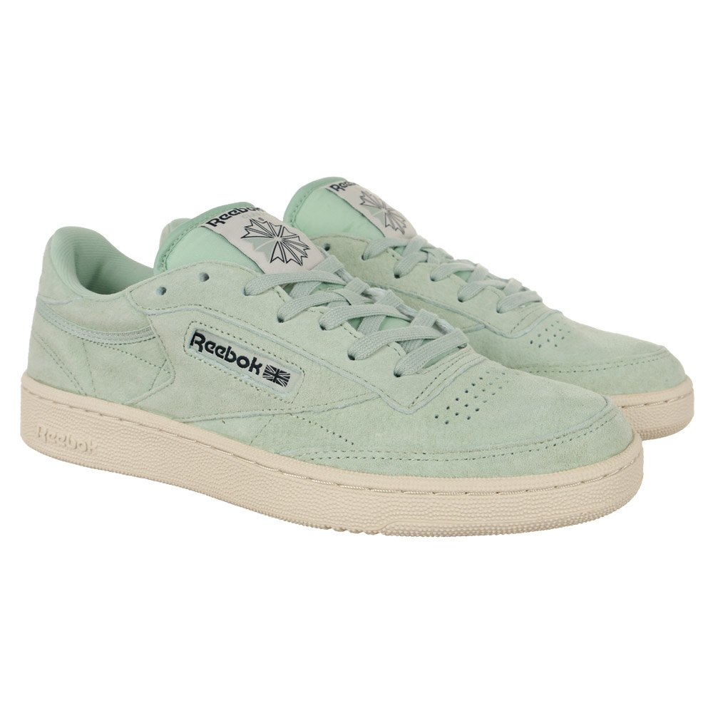 2f69482f8a20 Mens Reebok Classic Club C 85 Pastels Sneakers Leather Trainers Shoes