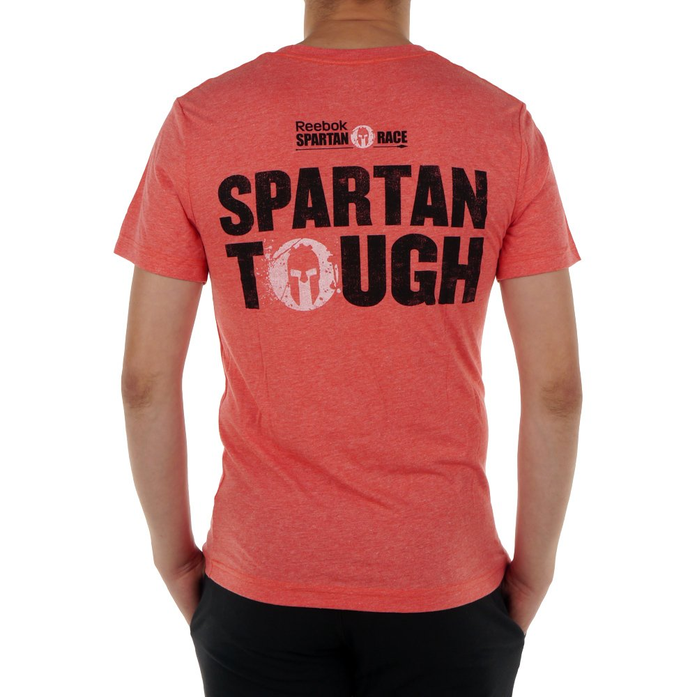 58f402f69 Men's Reebok Spartan Fan Tough Training T-Shirt Gym Workout Tee Running  PlayDry