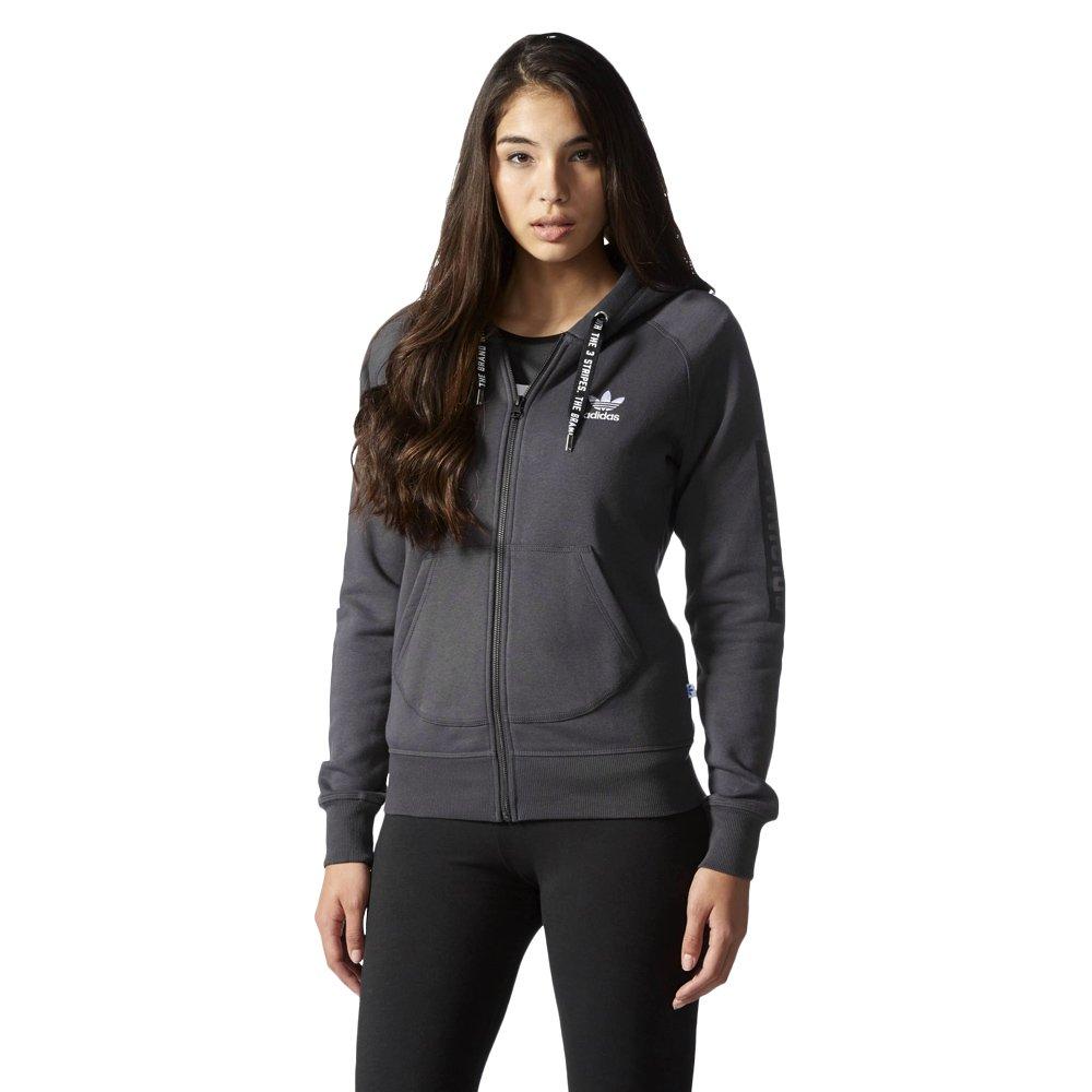 23a312abf8ed4 Bluza Adidas Originals Hoodie damska dresowa sportowa rozpinana z ...