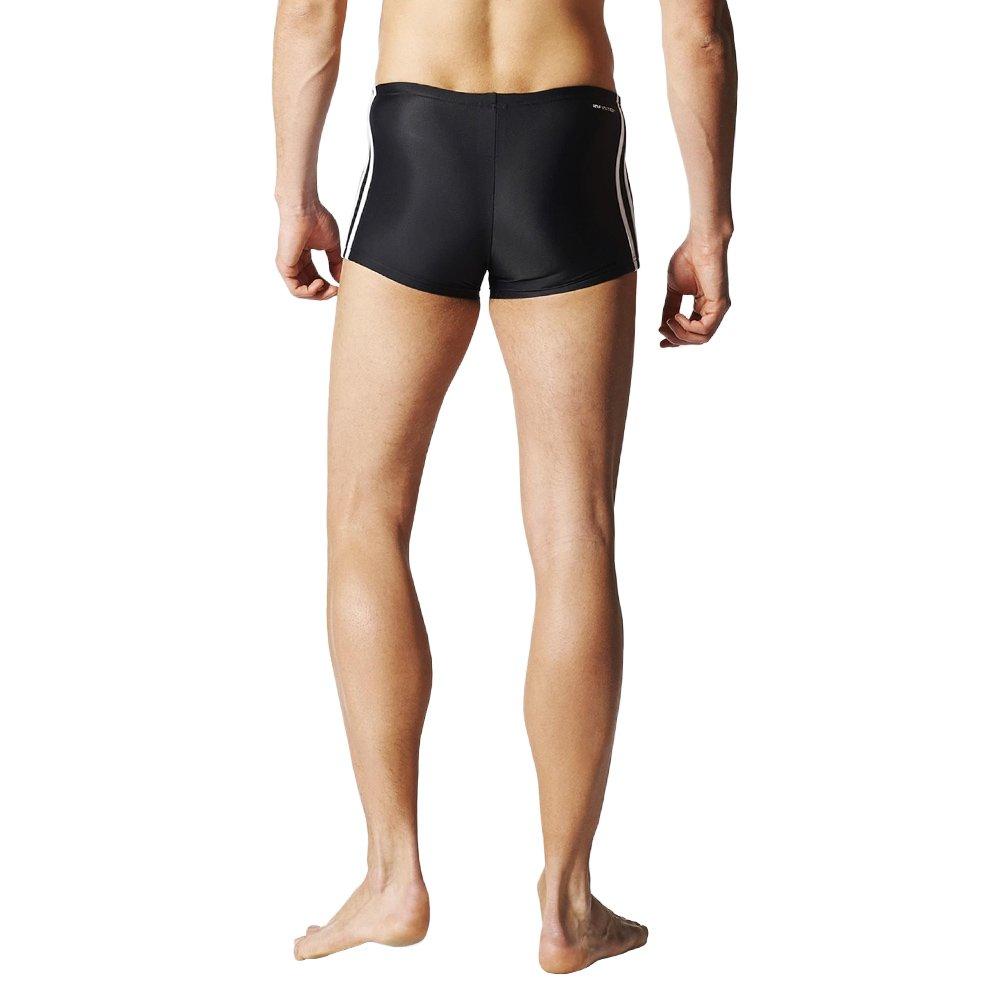 ... Adidas Inspiration 3 Stripes Boxer Herren Schwarz Schwimmen Boxer  Badehose S22932 2