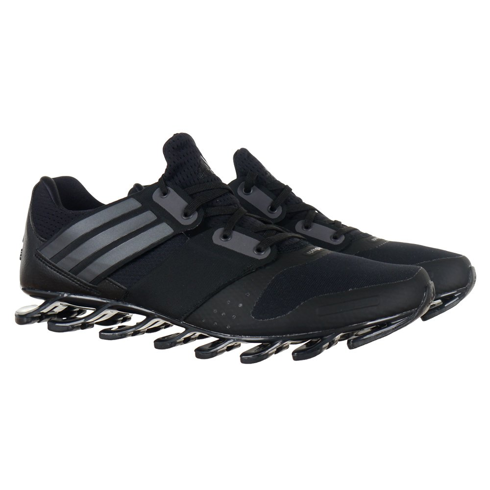 cheaper f2a91 d32cb adidas Performance Springblade Solyce Mens Running Shoes Black Sports  Trainers