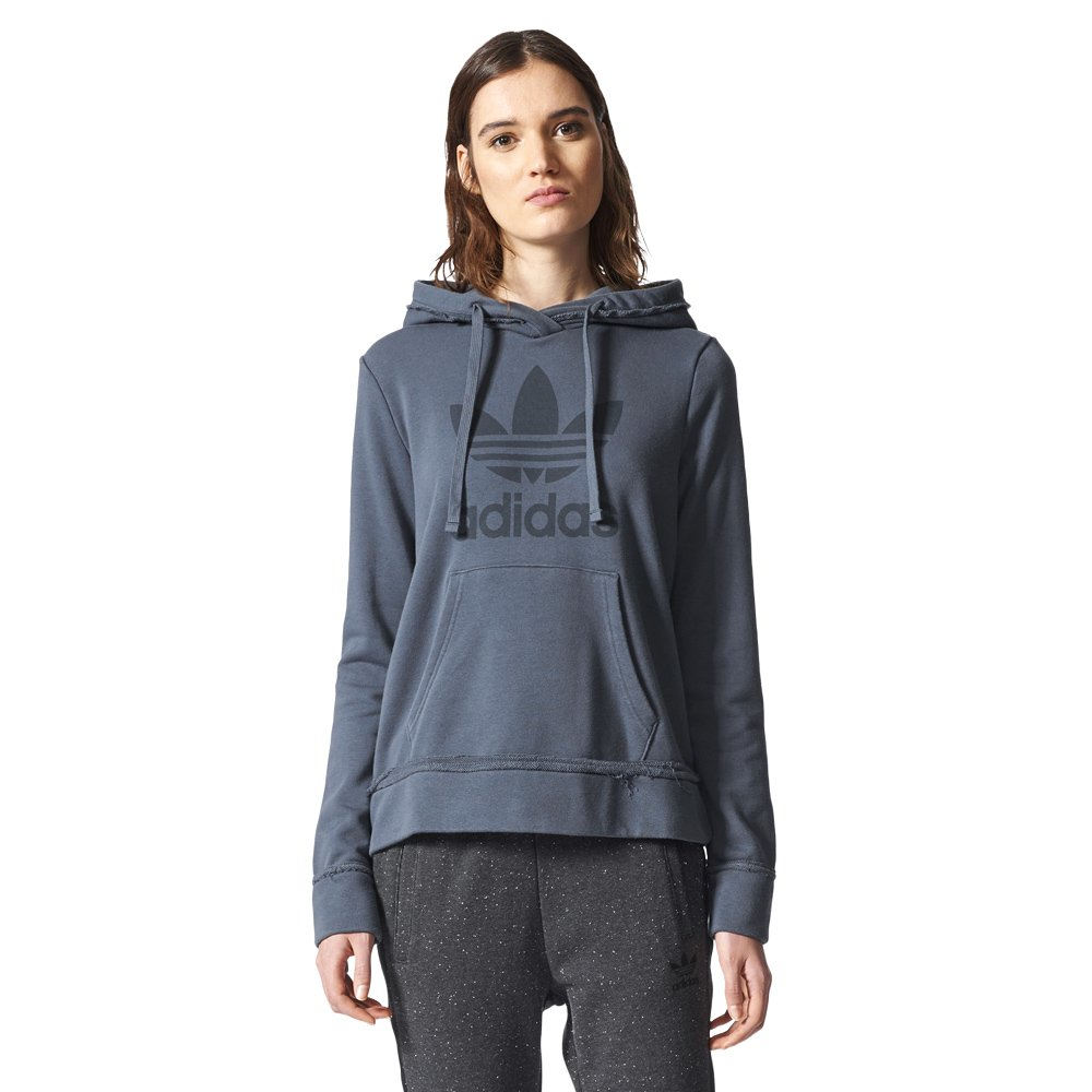 incredible prices huge inventory clearance sale Details about Womens adidas Trefoil Hoodie Everyday Hooded Sweatshirt  French Terry