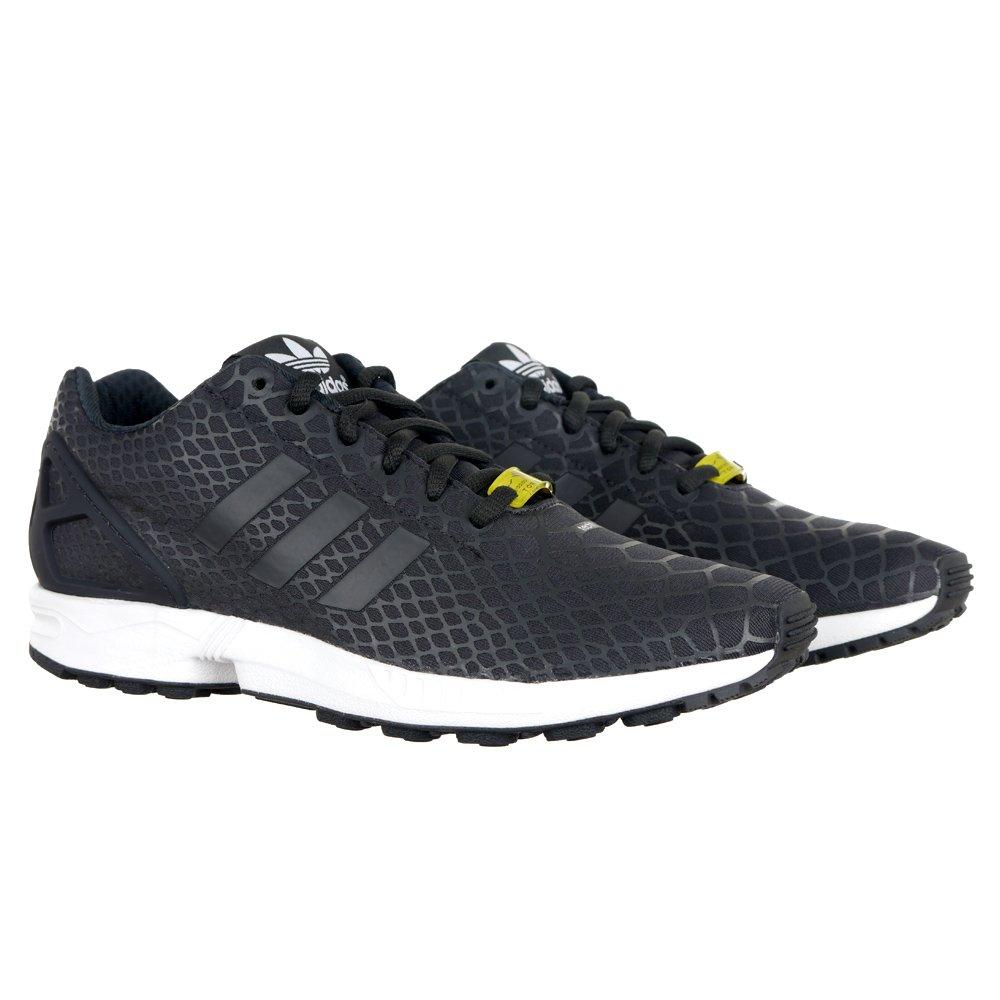 f190b7dfd Men s Adidas ZX Flux TechFit Sports Trainers Running Shoes Torsion S75488 1  ...