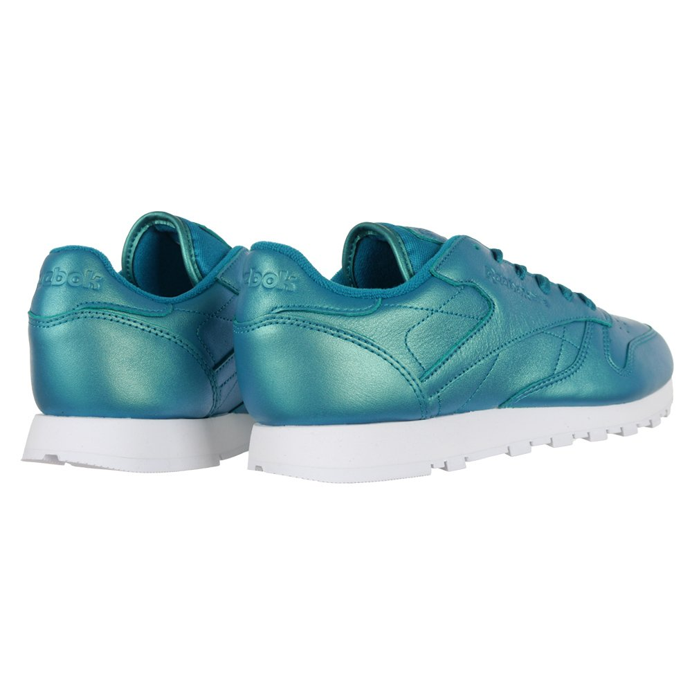 new styles 04585 381d4 Details about Reebok Classic Leather Pearlized Blue bd5212 Sneaker Blue New  Ladies- show original title