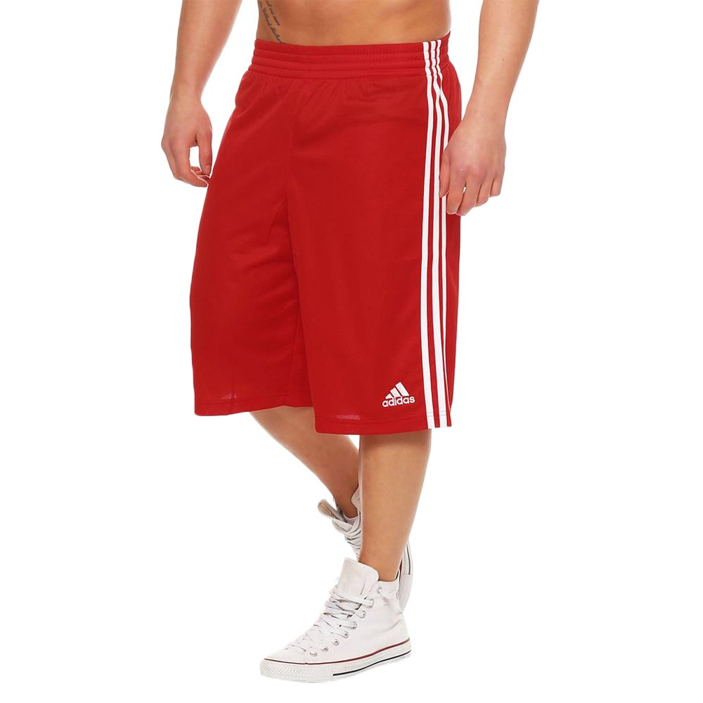 27231521bcf0 adidas Young Commander Kids Men s Basketball Red Shorts Polyester G76630 1  ...