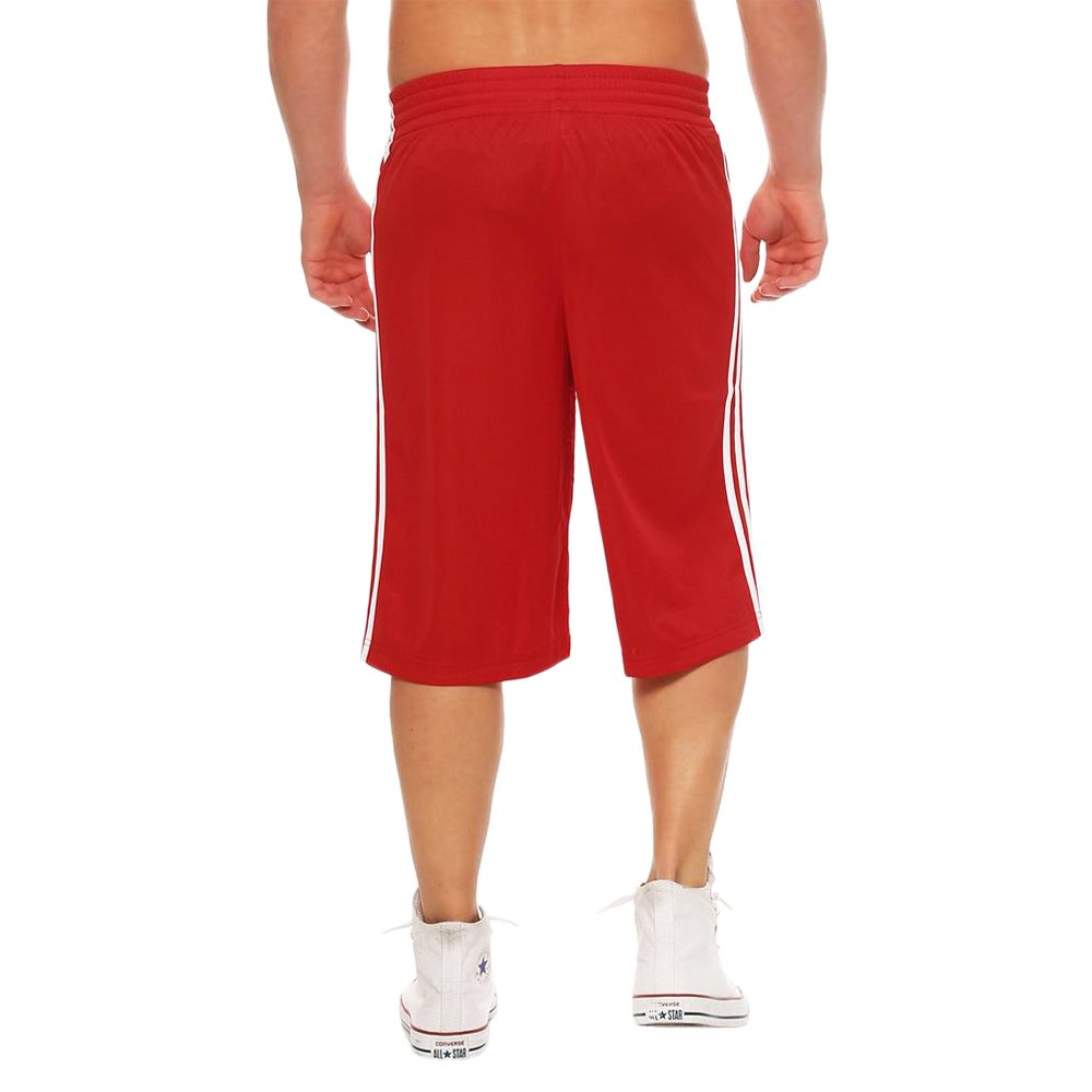 833721d31e7a ... 1 adidas Young Commander Kids Men s Basketball Red Shorts Polyester  G76630 2