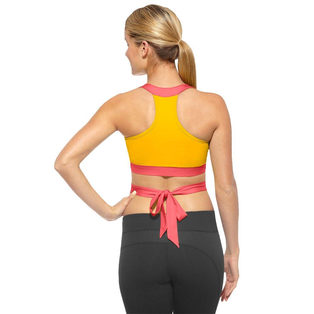 464b55fc5b ... Reebok Dance Short Bra sports top for dancing yoga fitness High Support  Z23237 2