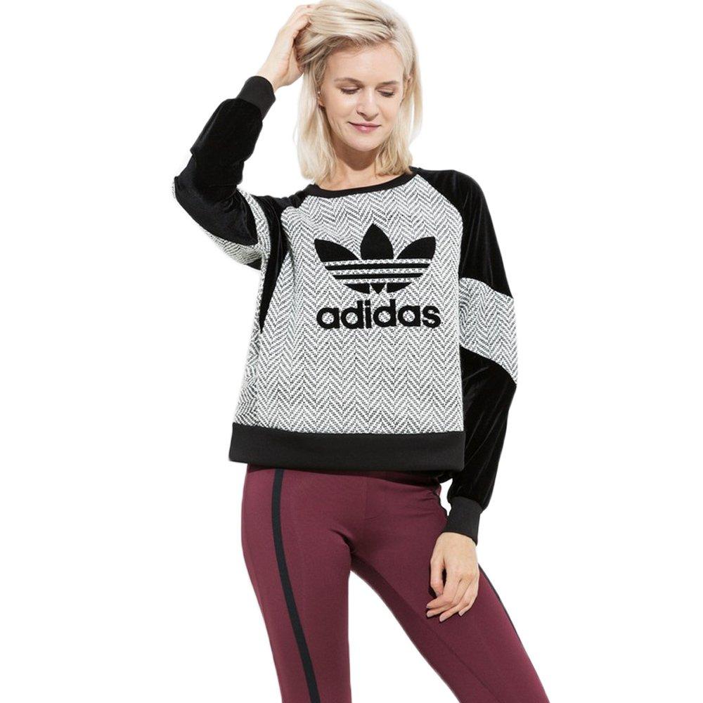 35671b4cf7c98 adidas Originals Sweatshirt Womens Sport Casual AY4930 1 ...