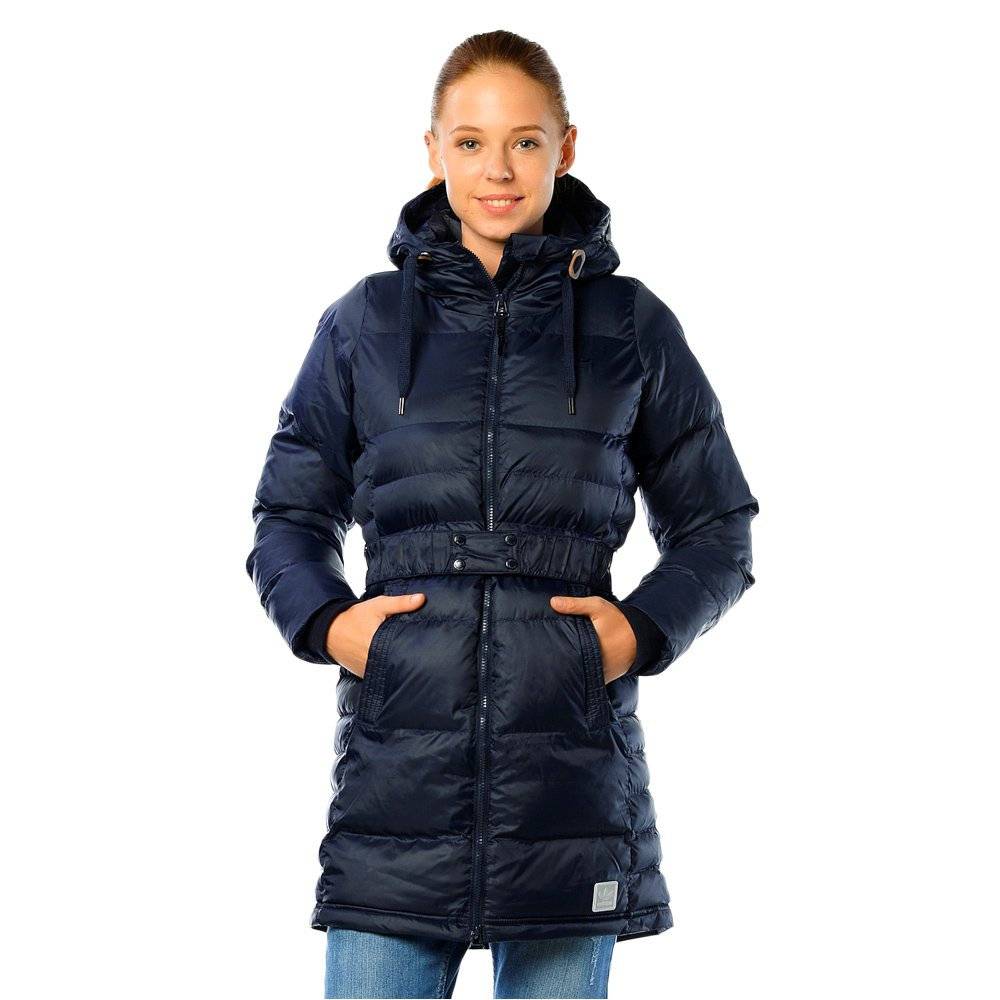 6ec6f3d7 Details about Women's Winter Down Jacket Adidas Originals Coat Zippered  Hooded Padded