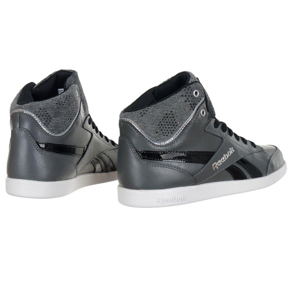 89724df58f Reebok Fabulista MID II Women's Black Leather Sports Shoes Hi Tops Sneakers