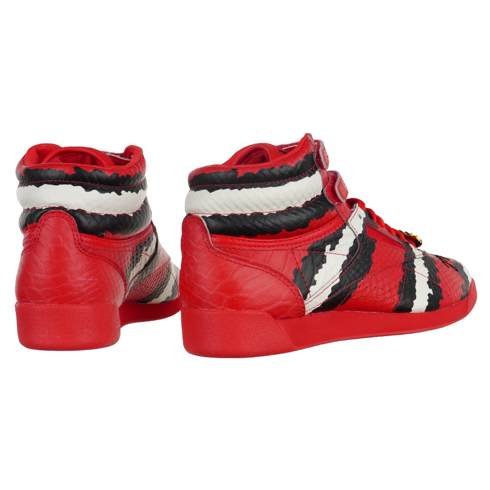 0dddc1f16ca2 ... Reebok Freestyle Hi Melody Ehsani Women s Hi Top Sneakers Red Trainers  M48396 2