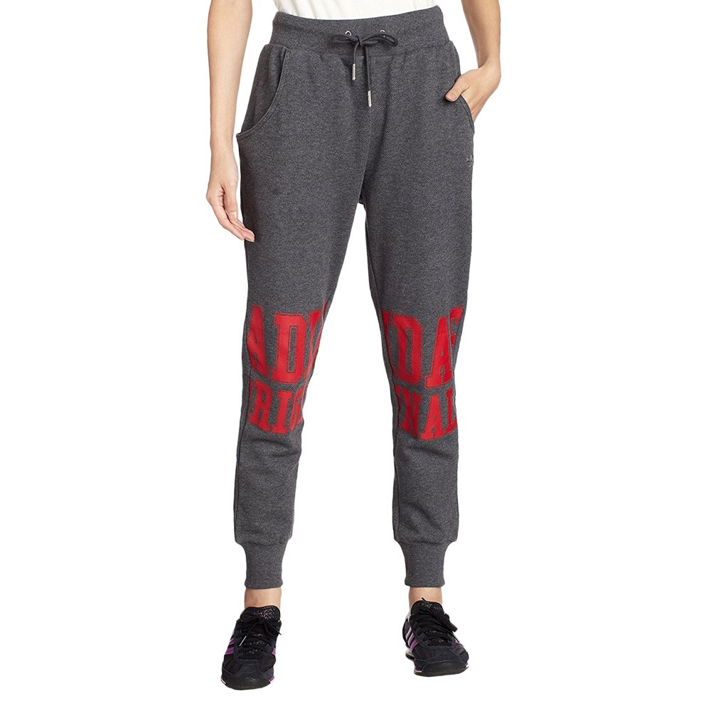 e01770feaa72 Details about Women s adidas Originals Loose Track Grey Sweatpants Tracksuit  Bottoms Trousers