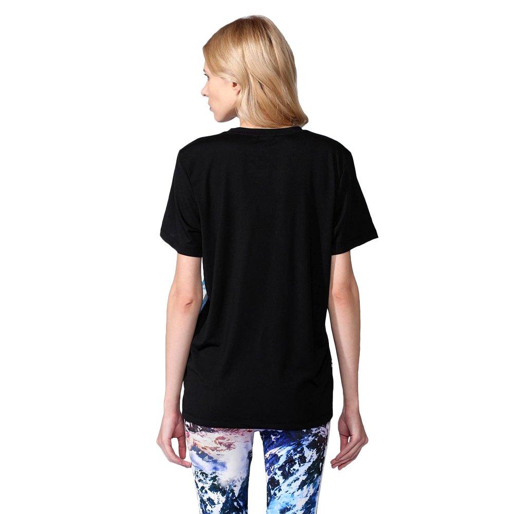 ... adidas Originals Trefoil Women s Mountain Clash Tee Jersey T-shirt  AA2495 2 654a97e784644