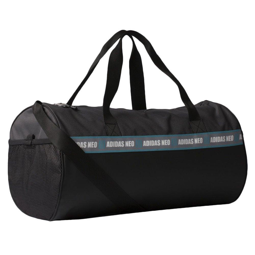 0ccee23fd543 Details about Sports bag Adidas C Barrel Bag Black Grip Shoulder Gym Fitness  Training Bag