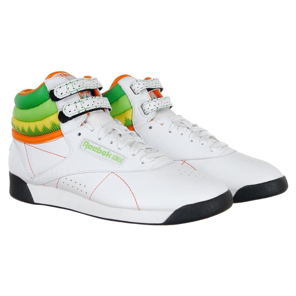 290fe79c519b9 Reebok Classic Freestyle High Tops Sushi International Women s Shoes  Sneakers