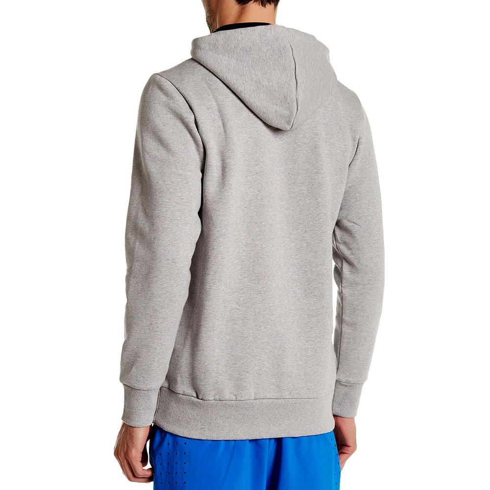 Herren Reebok Frotté BB BT Hoodie Warm Grey Hoody Sweatshirt