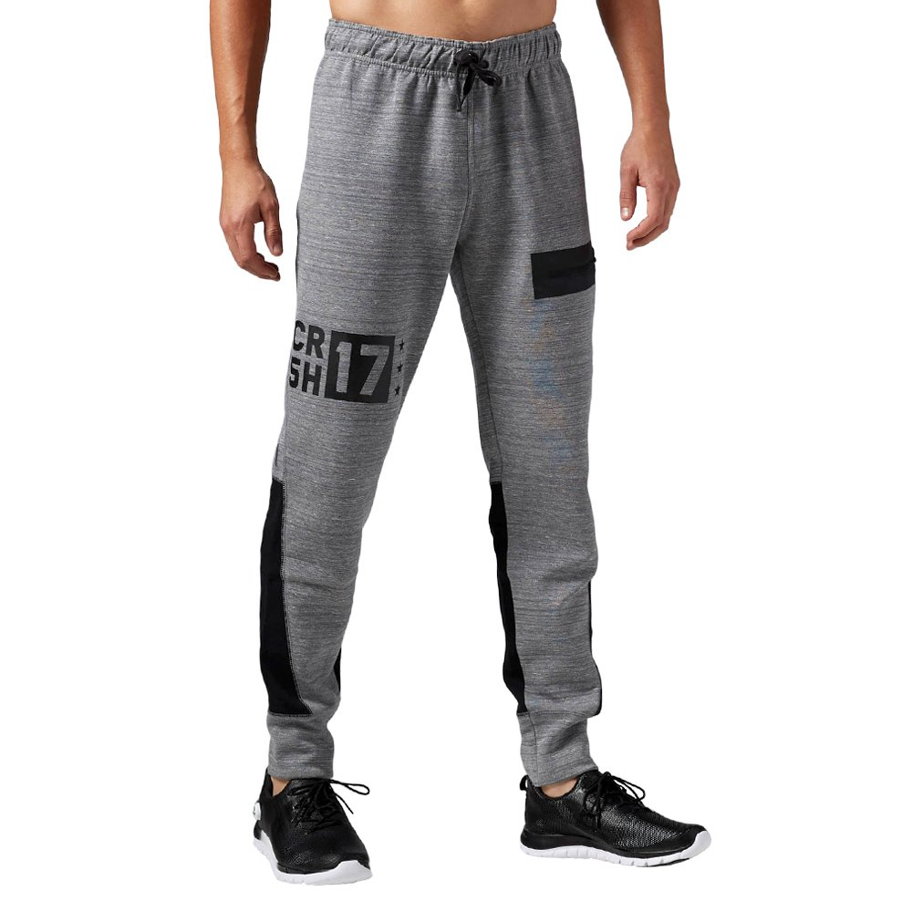Men/'s Reebok One Series Quick Cotton Fleece Pants Training Running Sweatpants