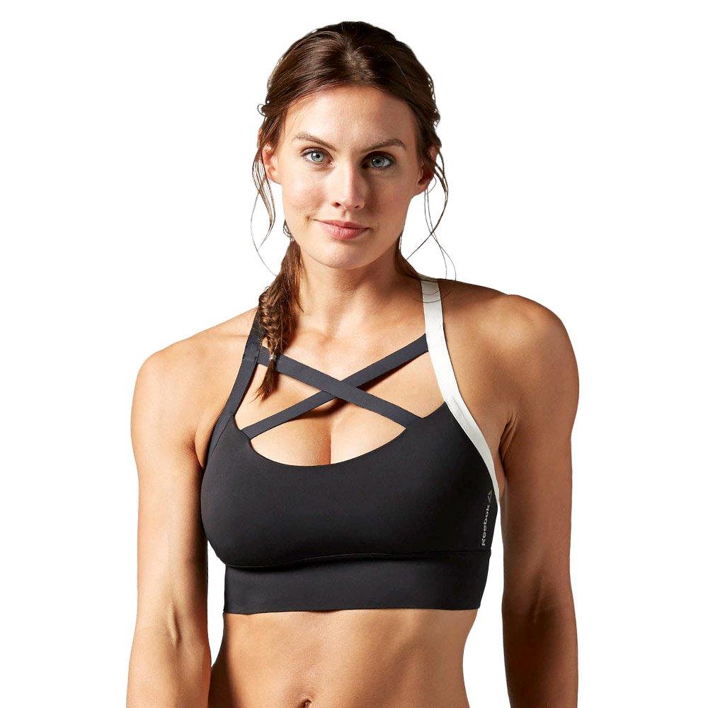 1833cedbd8915 Womens Reebok Cardio Strappy Bra SportsTraining Tank Top Dance Fitness  Speedwick