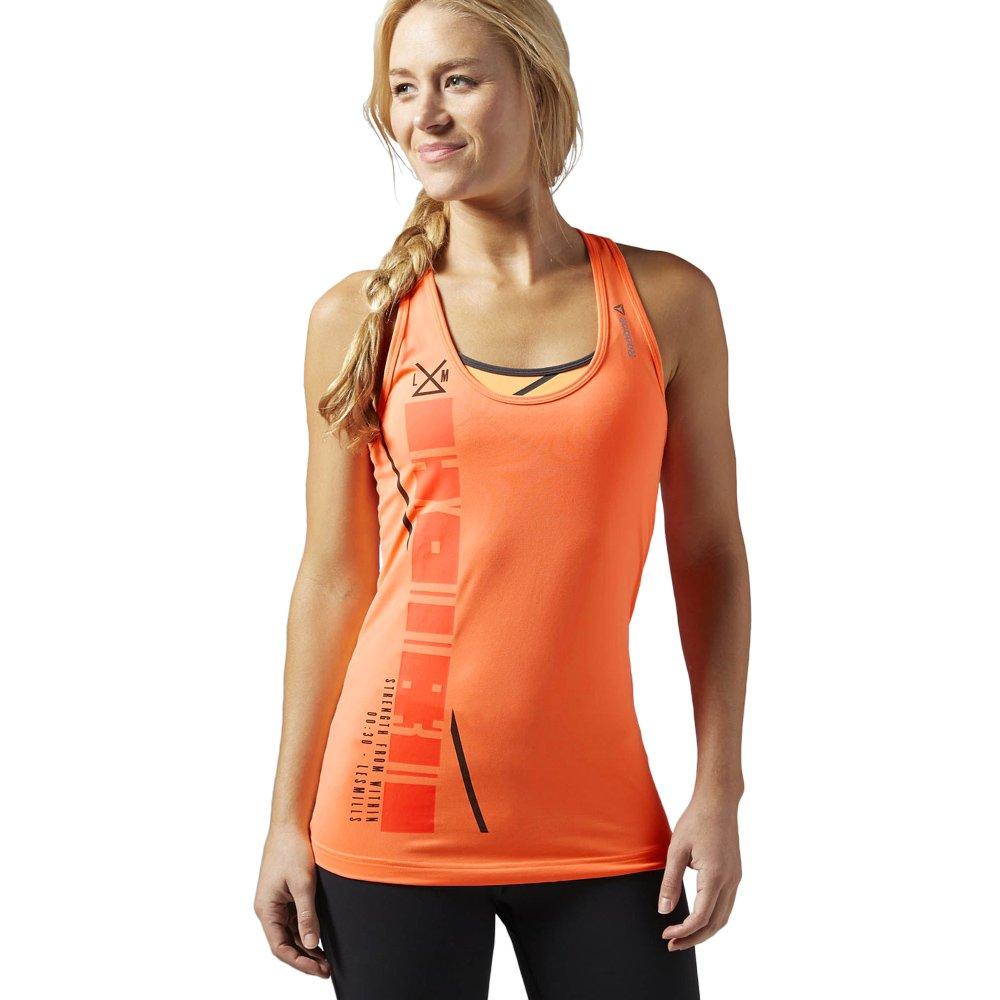 Reebok Womens Court Mesh Tank Top Sleeveless Vest T-Shirt Gym Top