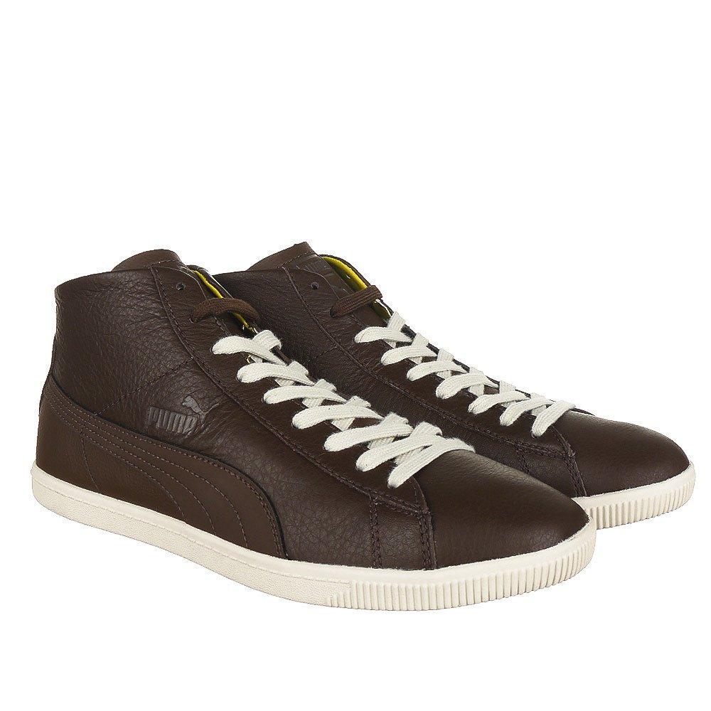 5e169104d61dd8 Details about Puma Glyde Leather Mid Herren Leder Schuhe Sneaker Old School  Klassiker