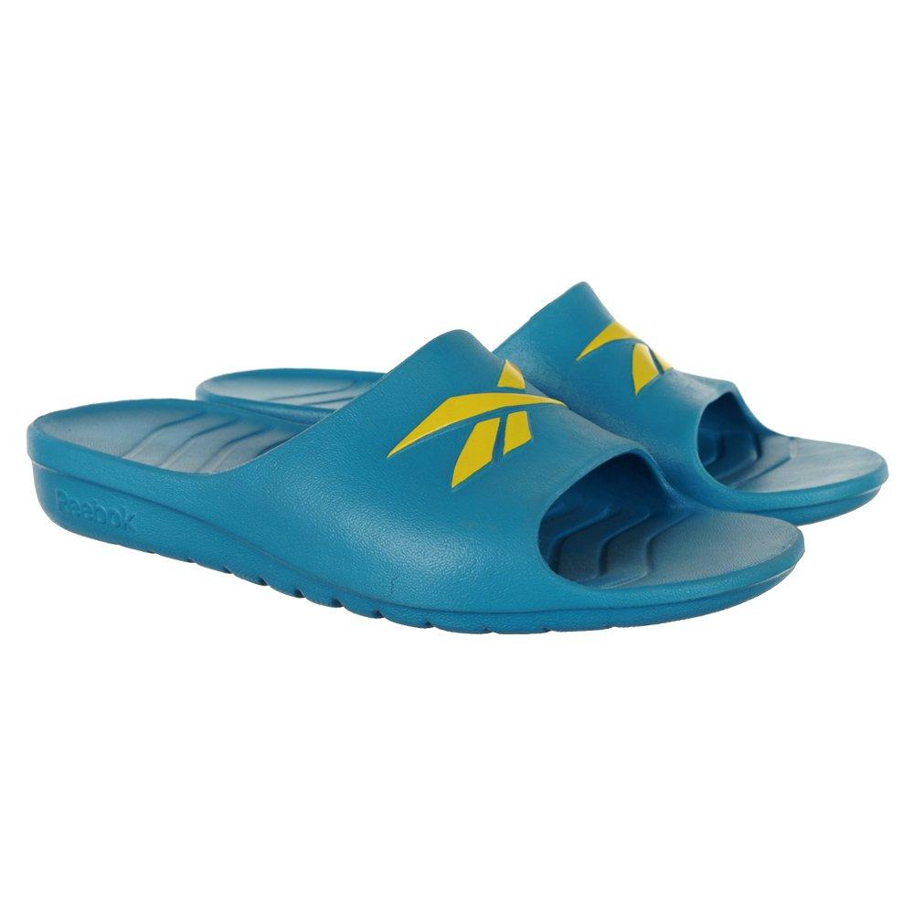 525f3f7804a167 REEBOK KOBO VI JCLIP SANDAL SLIDES SANDALS MENS - BLUE