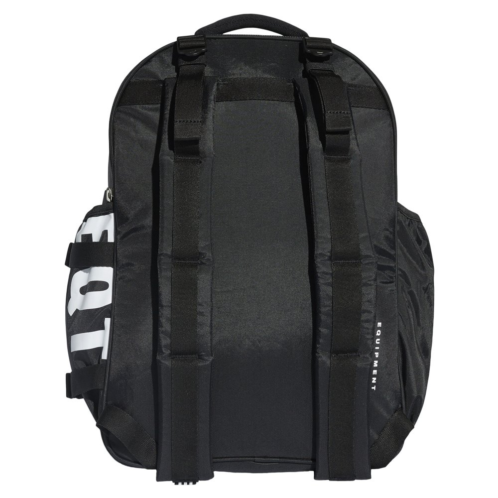 612829b331a9 Details about adidas Originals EQT Classic Backpack Black Sports School  City Laptop Rucksack