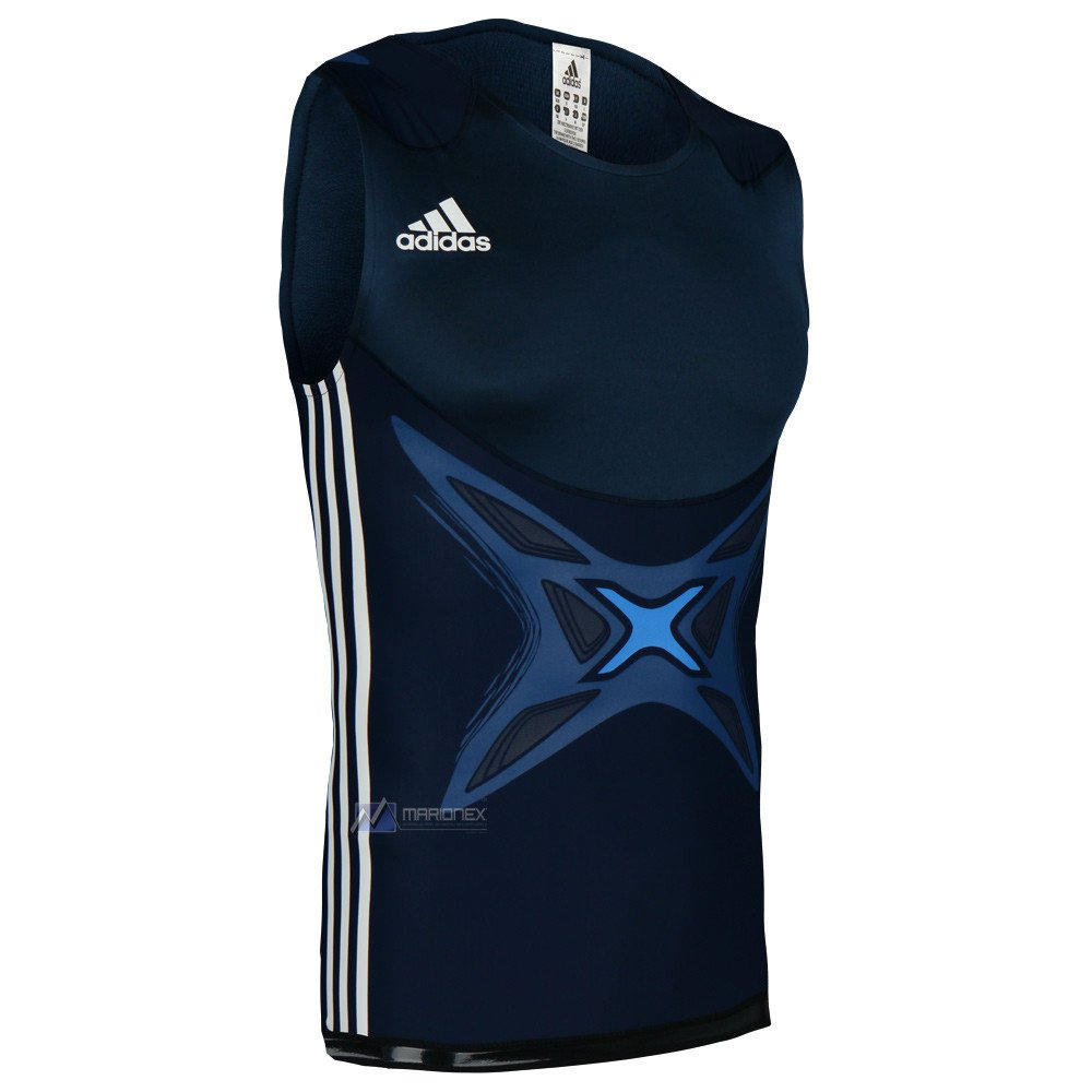 53e0dc363674c Details about Mens adidas adipower Boxing Tank Top Vest Powerweb Sleeveless  Training Tee