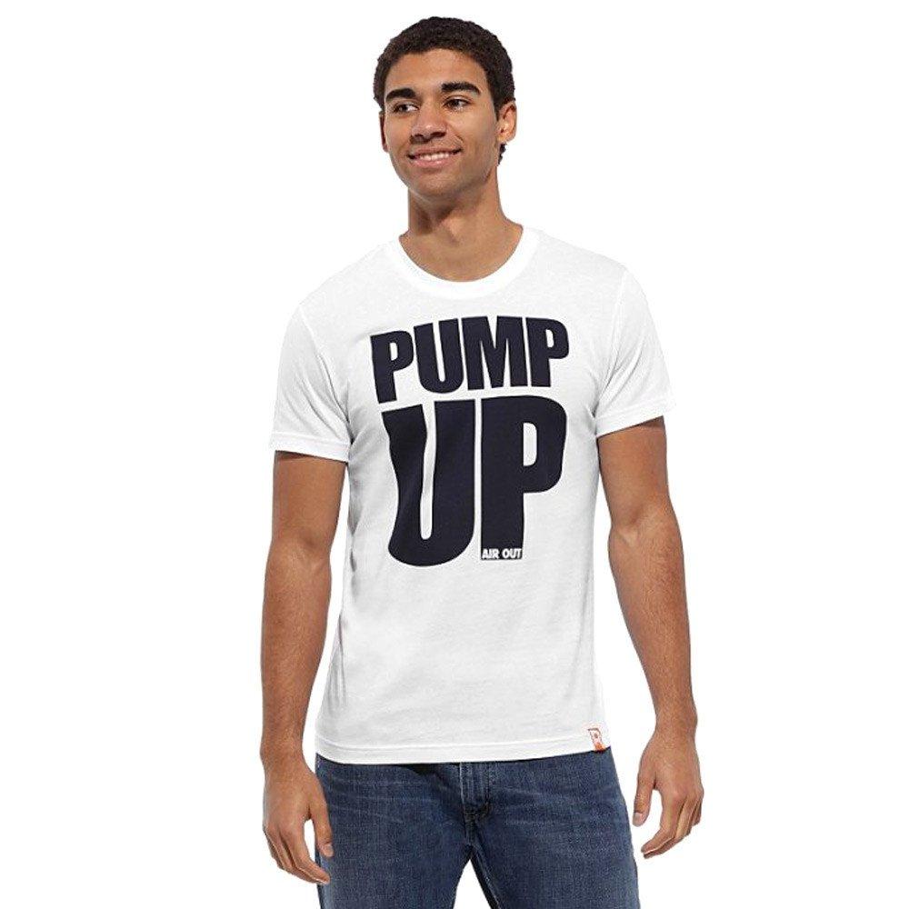 Reebok Men/'s Basketball Pump T-Shirt