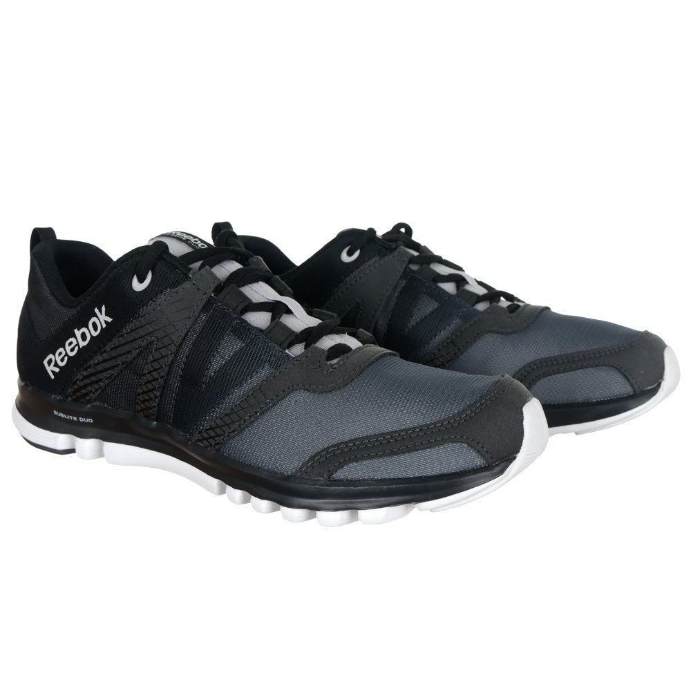 811e64be8a3 Details about Men s Reebok Sublite Duo LX Running Casual Shoes