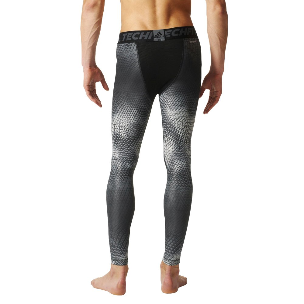 dfaf9e918 Details about Men's Training Tights adidas Techfit Chill Graphic Long Tight  with climachill