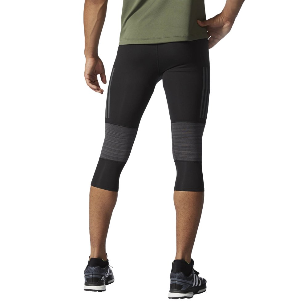 e6788e974cf0c Details about Men s Running Trousers adidas Supernova 3 4 Tight Black  Running ClimaCool