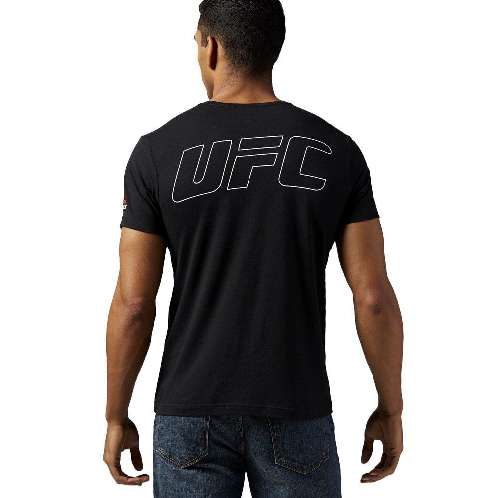 Reebok UFC Jones Fighter Herren Mens UFC MMA t shirt Jon
