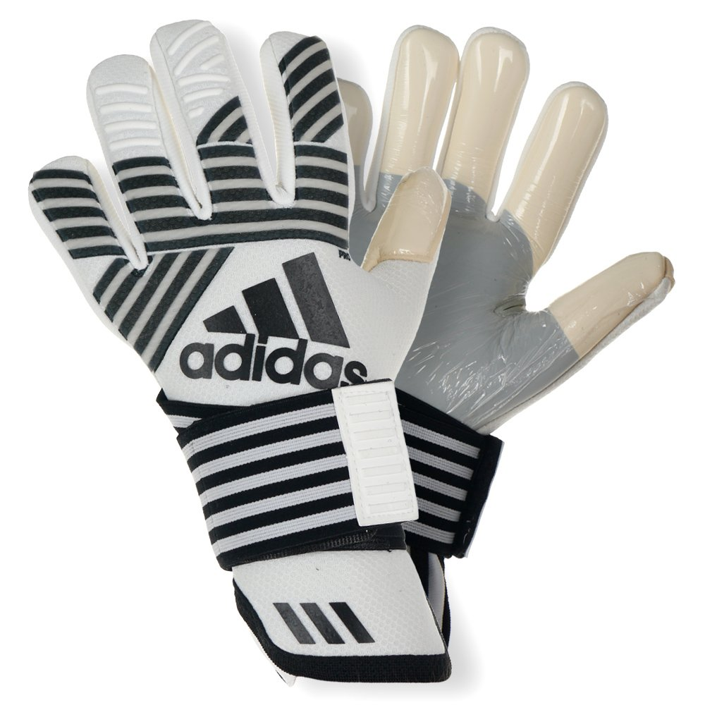 huge discount 167a9 f6a8a Details about adidas ACE Trans Pro Gloves Match Soccer Goalkeeper Negative  Cut Goalie