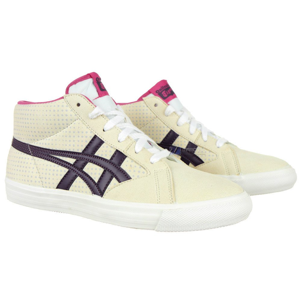 Onitsuka Tiger Farside Asics Womens Ankle Sneakers City Casual Shoes UK 5  D470Y 0132 1 ...