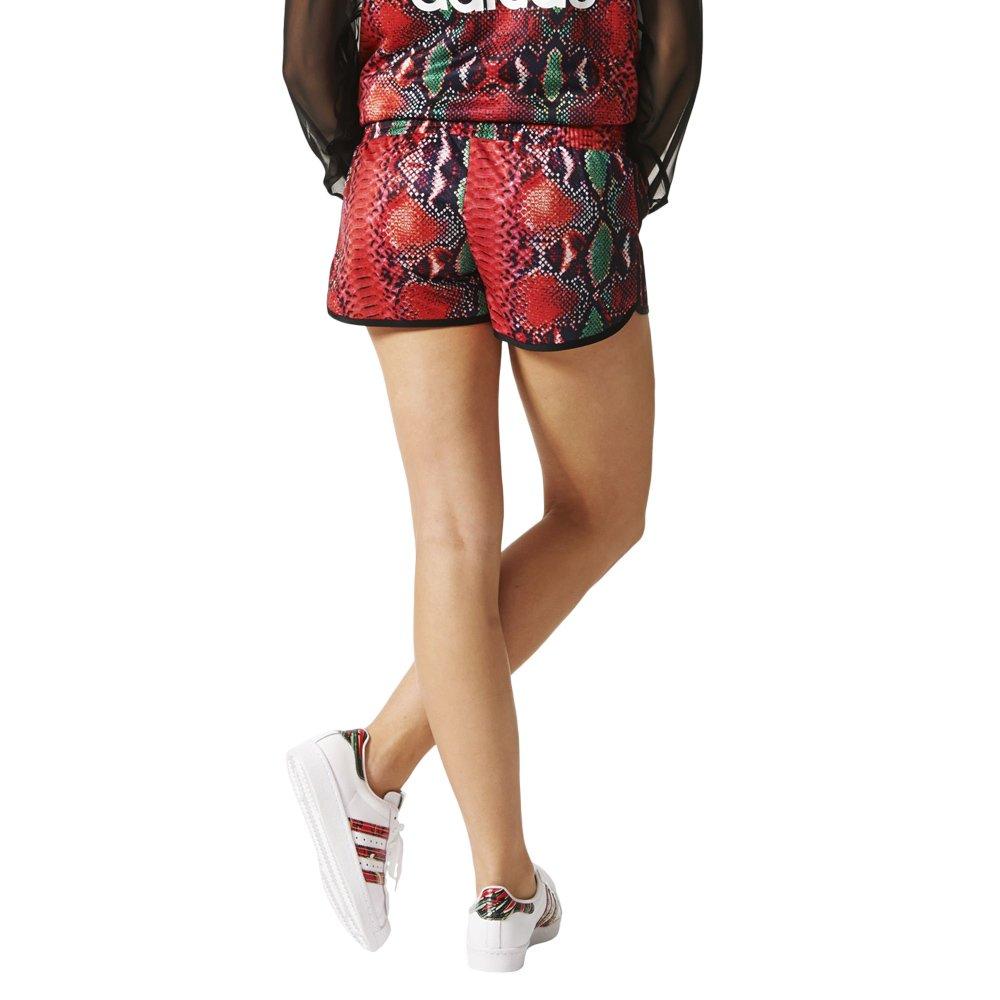 20c6b360a39b65 ... Adidas Originals 3 Stripes Fashion Shorts Short Damen Sporthose Kurze  Hose AJ8369 2