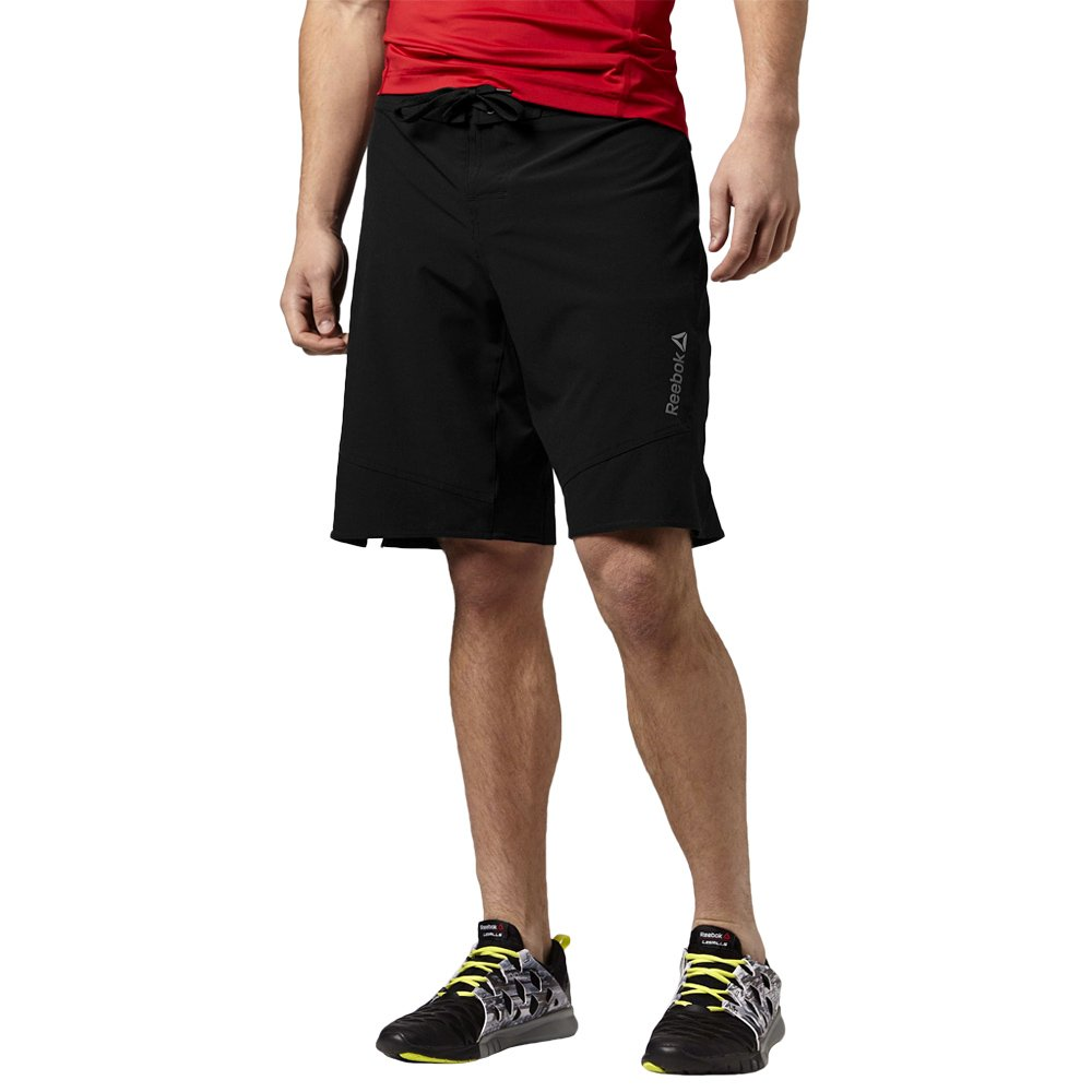 4553c439e1288 Details about Reebok Les Mills Board Short Unisex Training Shorts Sports Gym  Pants