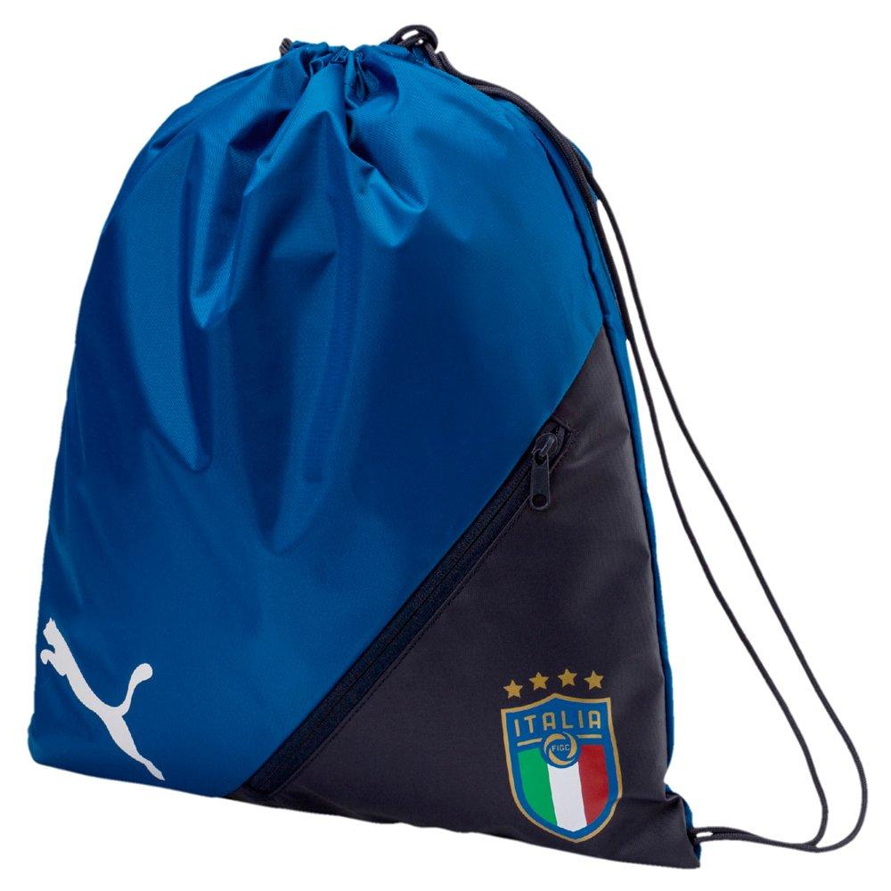 1ab3ee0737 Details about Puma Italia Liga Gym Sack Training City Backpack Drawstring  Shoesack Gymbag