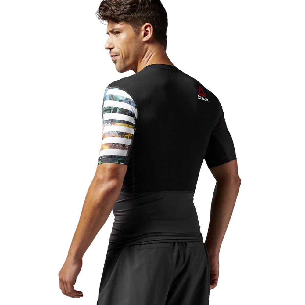 ad14d374bcd6 ... Reebok ONE Series Pow3r Short Sleeve Compression ActivChill Tee  Training T-Shirt AI1641 2