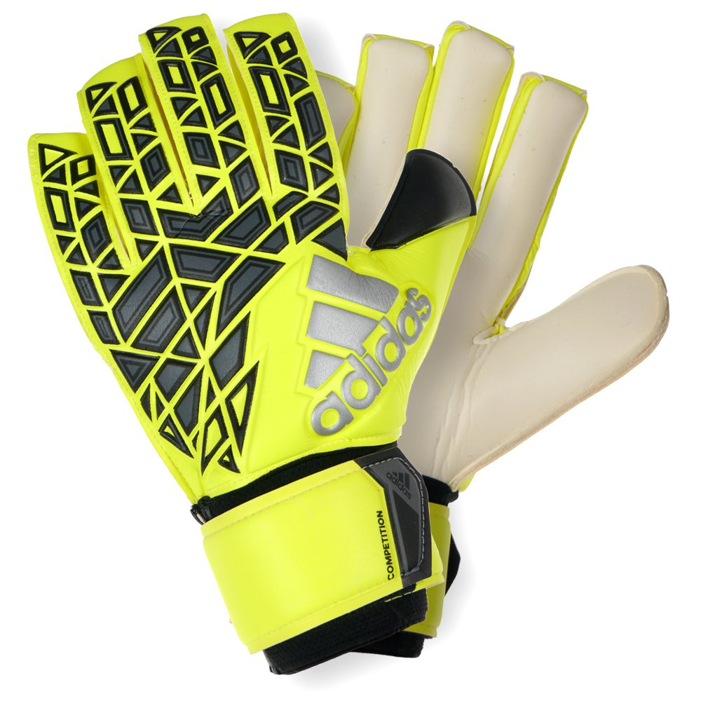 new concept 82cec 146ac Details about adidas Ace Competition Goalkeeper Gloves Negative Cut Keeper  Soccer Match