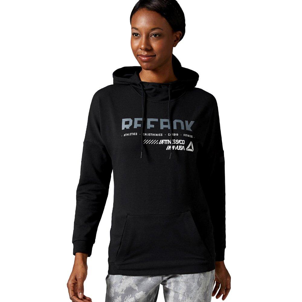 Reebok Women/'s Workout Ready Hooded Sweatshirt