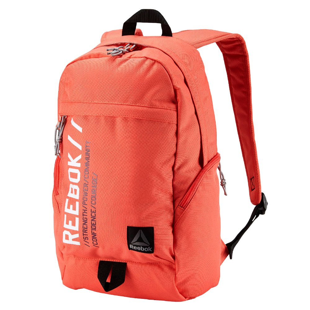 Details about Reebok Motion Unisex Graphic Active Backpack School Laptop  Friendly Red Rucksack