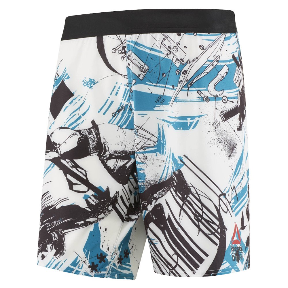 Dettagli su Pantaloncini Reebok Crossfit super cattivo velocità dei giochi da Uomo Sport Allenamento mostra il titolo originale