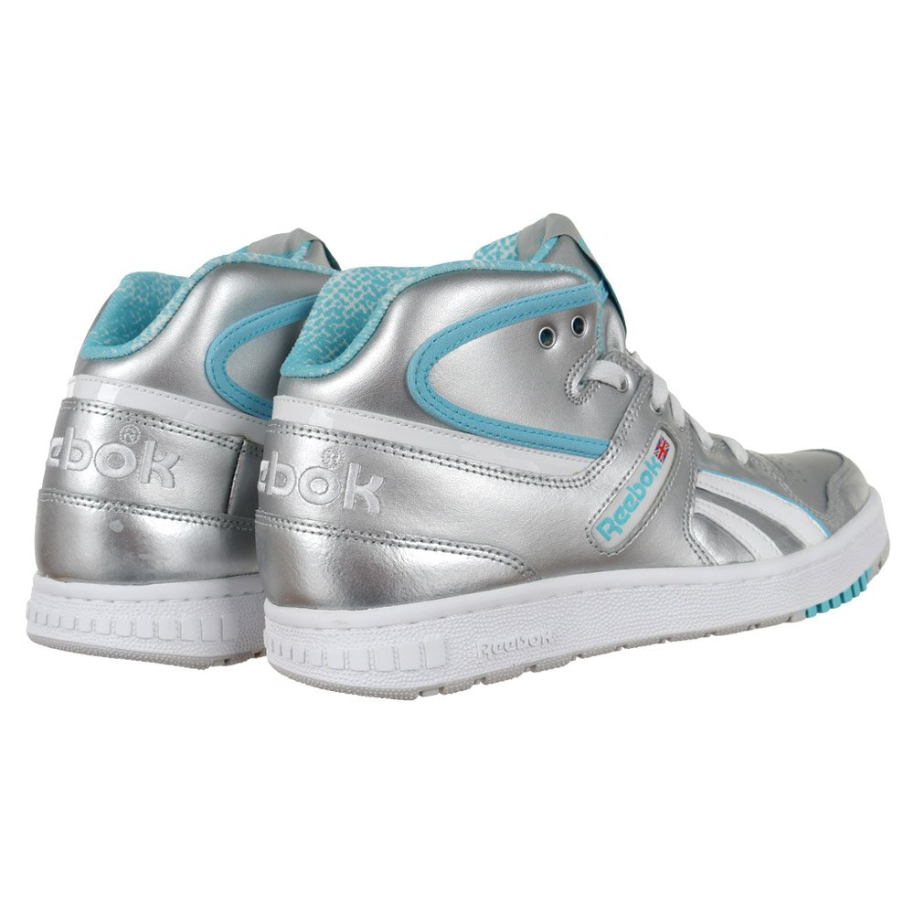 a0ee8d59bf80 Women s Sneakers Reebok Classic Pro Legacy Mid Trainers Silver Everyday  Shoes