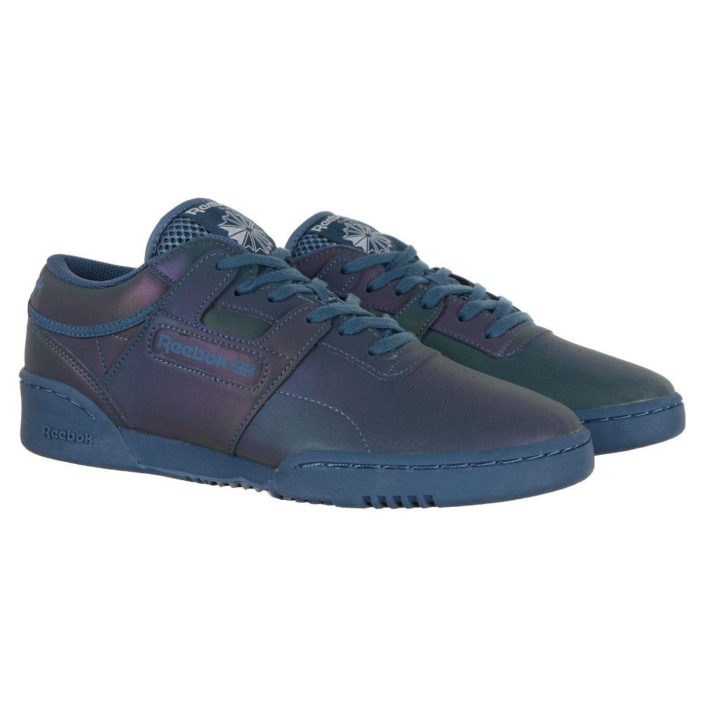 cienie szerokie odmiany oferować rabaty Details about Reebok Classic Workout LO Clean PRS Mens Reflective Sneakers  Shoes Trainers