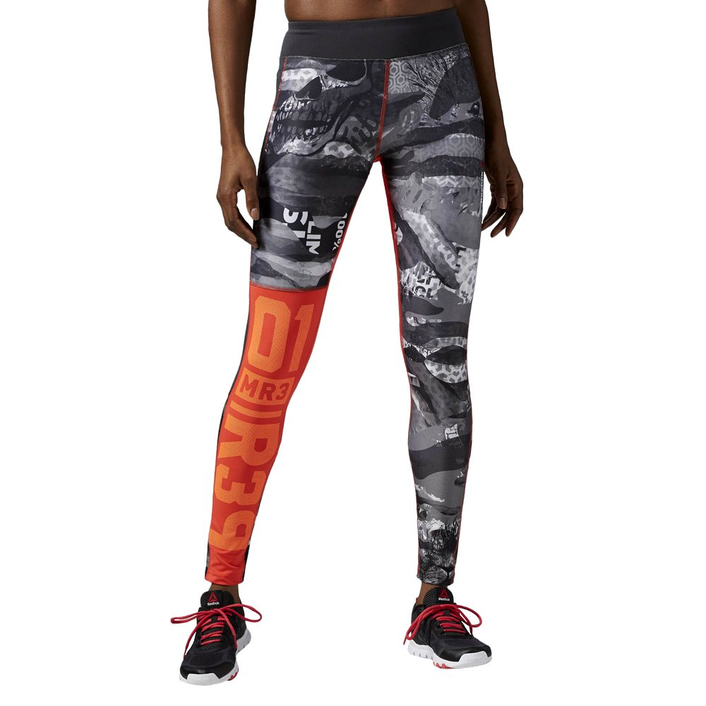 8d9a16eab602 Details about Trousers Reebok One Series Elite Mesh Tight Women Leggings  Training Gym Running