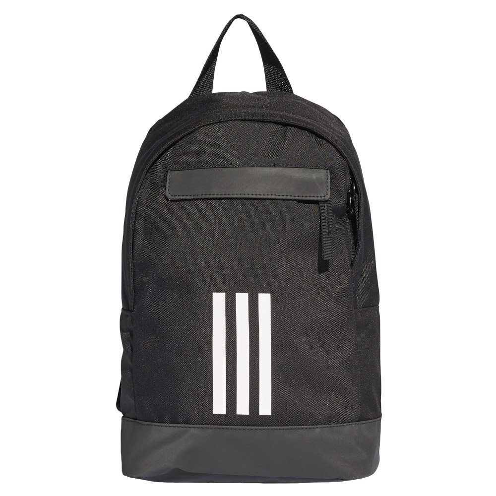 eb59d558cd Details about adidas Classic 3-Stripes Backpack Extra Small Kids Black  Rigid Back Rucksack